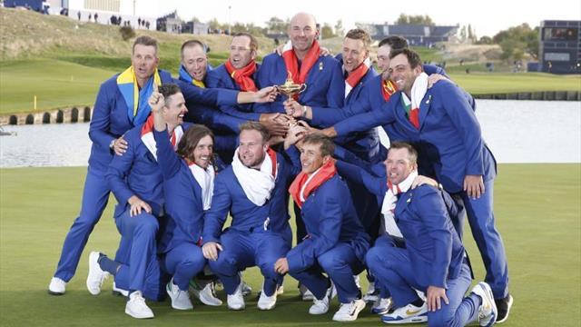 La Ryder Cup fragua héroes y forja alianzas