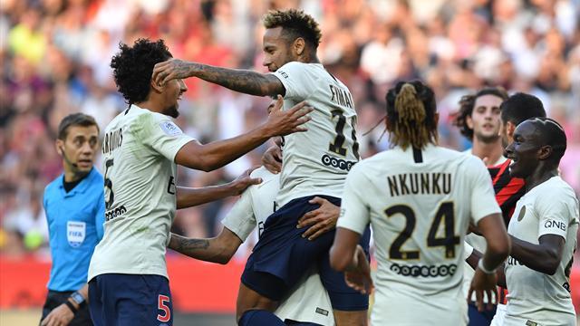 Pour vous, Neymar est le meilleur joueur de la 8e journée de Ligue 1