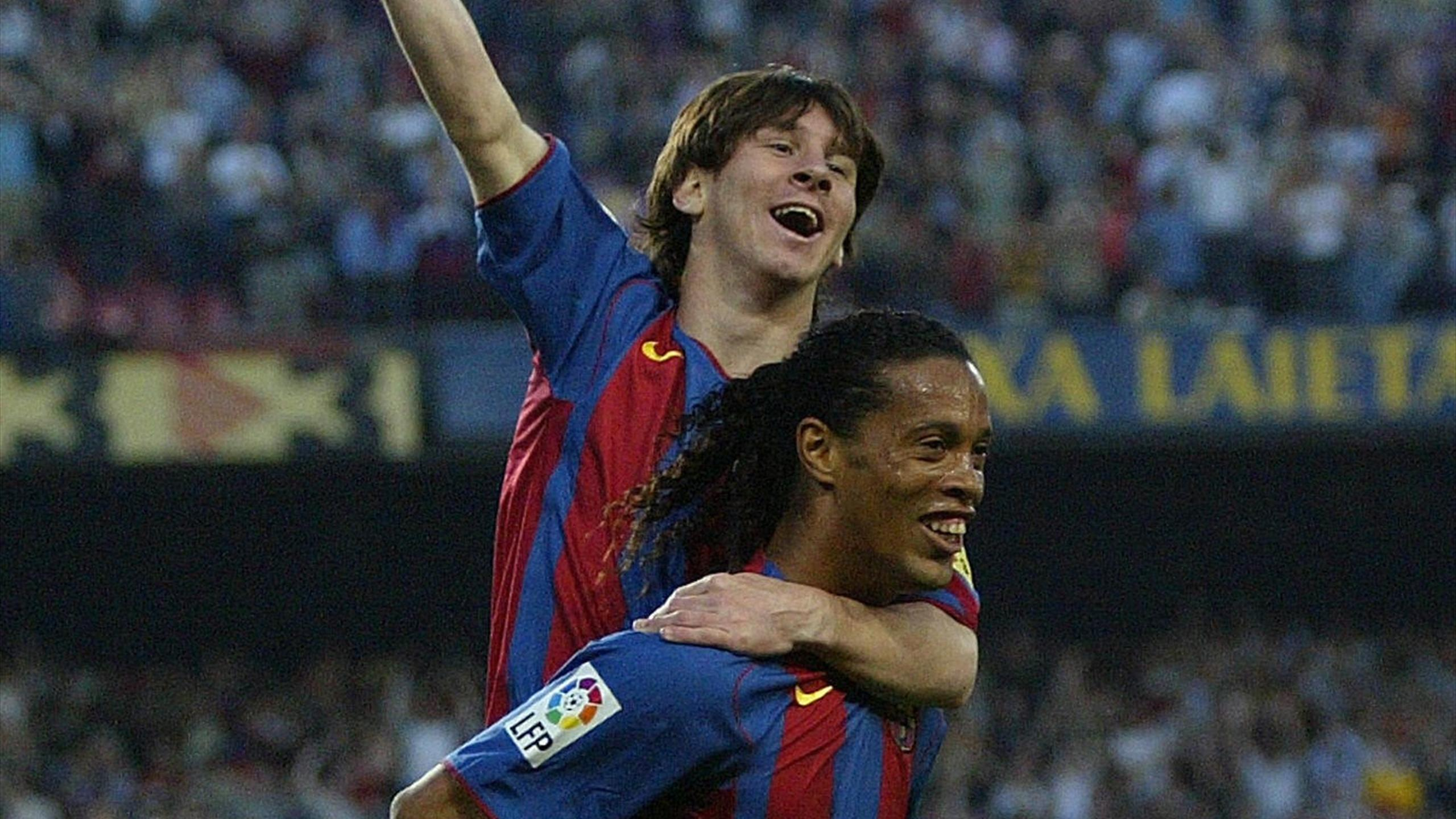 Football news - Lionel Messi praises 'mentor' Ronaldinho and names ...