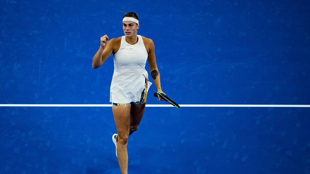 Muguruza falls to Sabalenka in Beijing second round