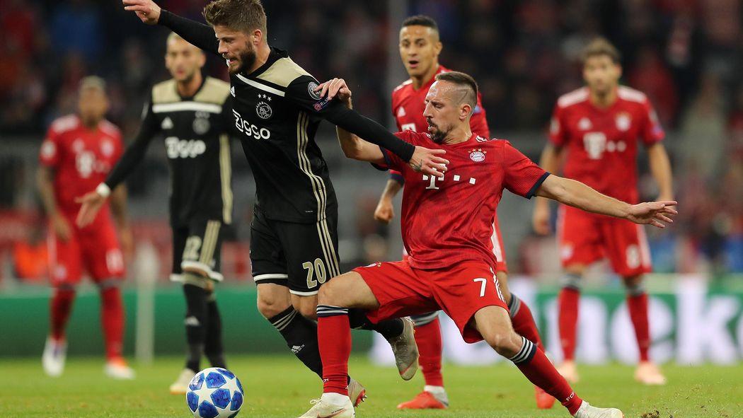 Image result for Bayern munich vs ajax