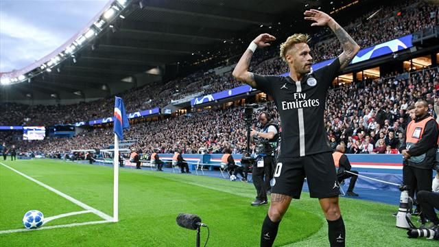 Champions League: Neymar turns on style with hat-trick in PSG stroll