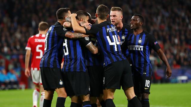 L'Inter sbanca anche Eindhoven in rimonta: Nainggolan-Icardi, 2-1 al PSV