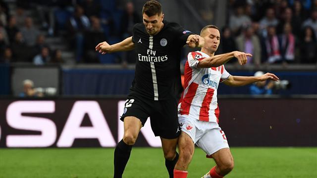 «Ce n'était pas Naples ou Liverpool» : Meunier relativise le carton du PSG