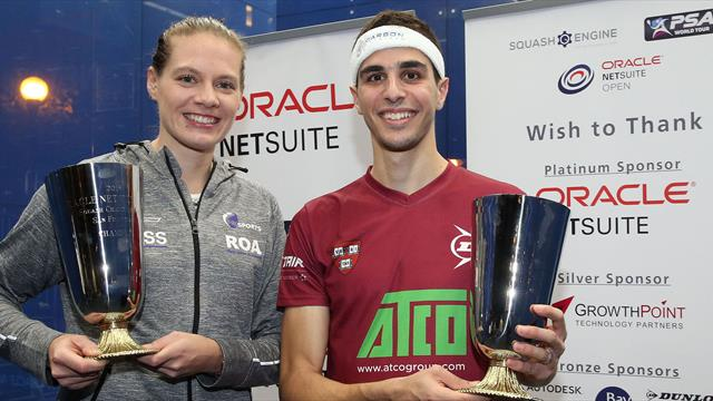 Farag dethrones ElShorbagy as Perry retains Oracle Netsuite Open crown
