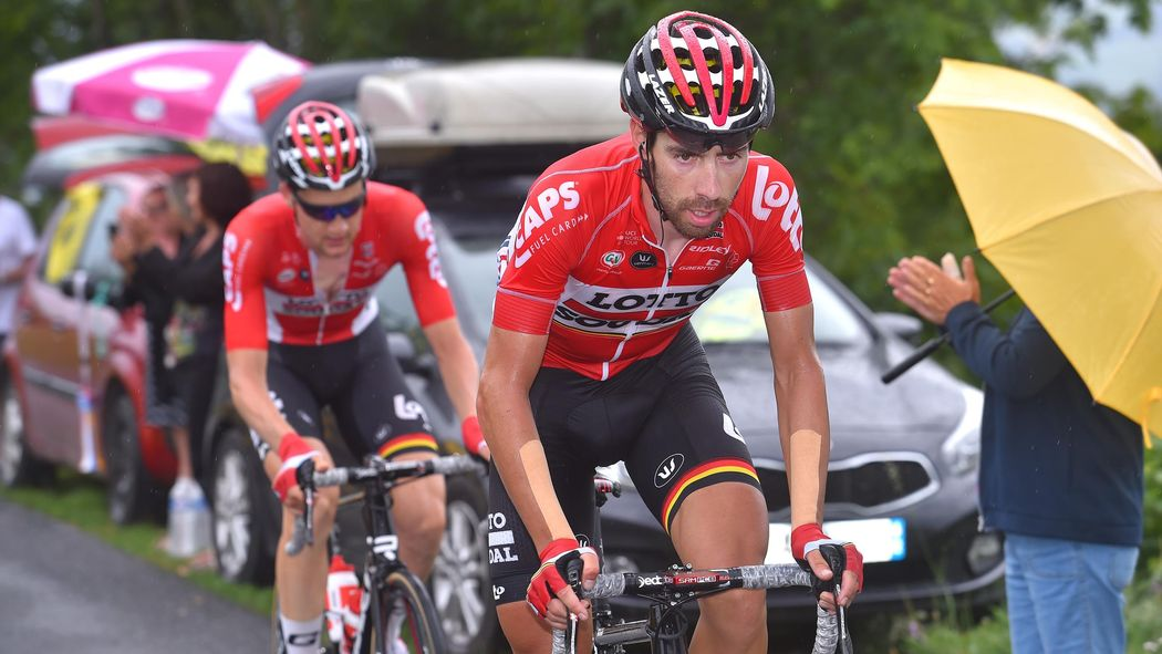 Blazin  Saddles  Thomas De Gendt and Tim Wellens vow to ride home after Il  Lombardia - Il Lombardia 2018 - Cycling - Eurosport UK ae5cbdfd4