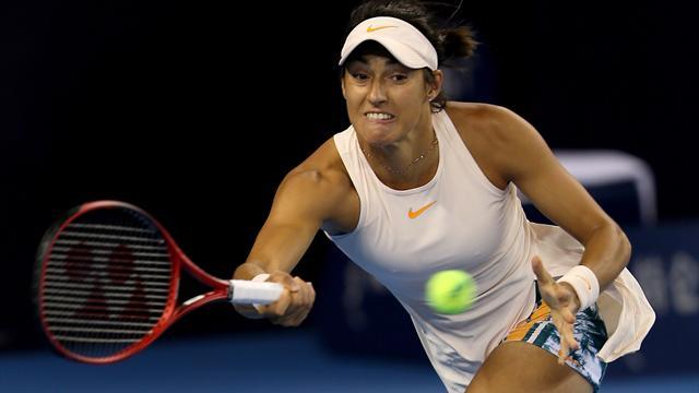 Pékin: Caroline Garcia perd son titre, le Masters s'envole
