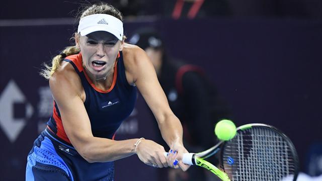 Wozniacki rejoint Sevastova pour jouer le titre