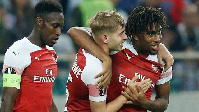 Arsenal med full pott i Europa League