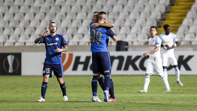 Après avoir mené 2-0, Marseille grille un deuxième joker