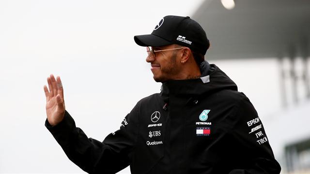 """Hamilton : """"Je n'avais plus qu'à me régaler"""""""