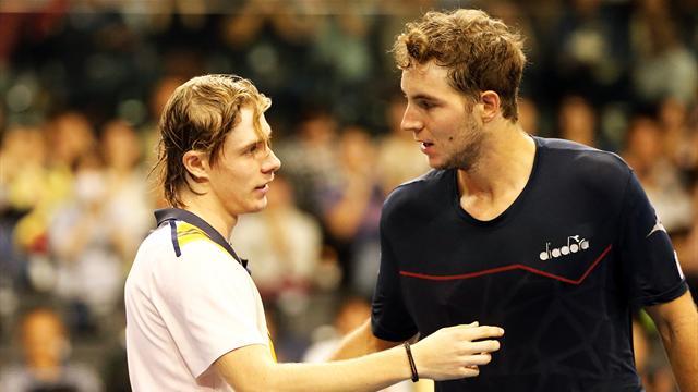 Tennis - ATP - Tokyo - Tokyo : Raonic sorti en quarts de finale par Medvedev