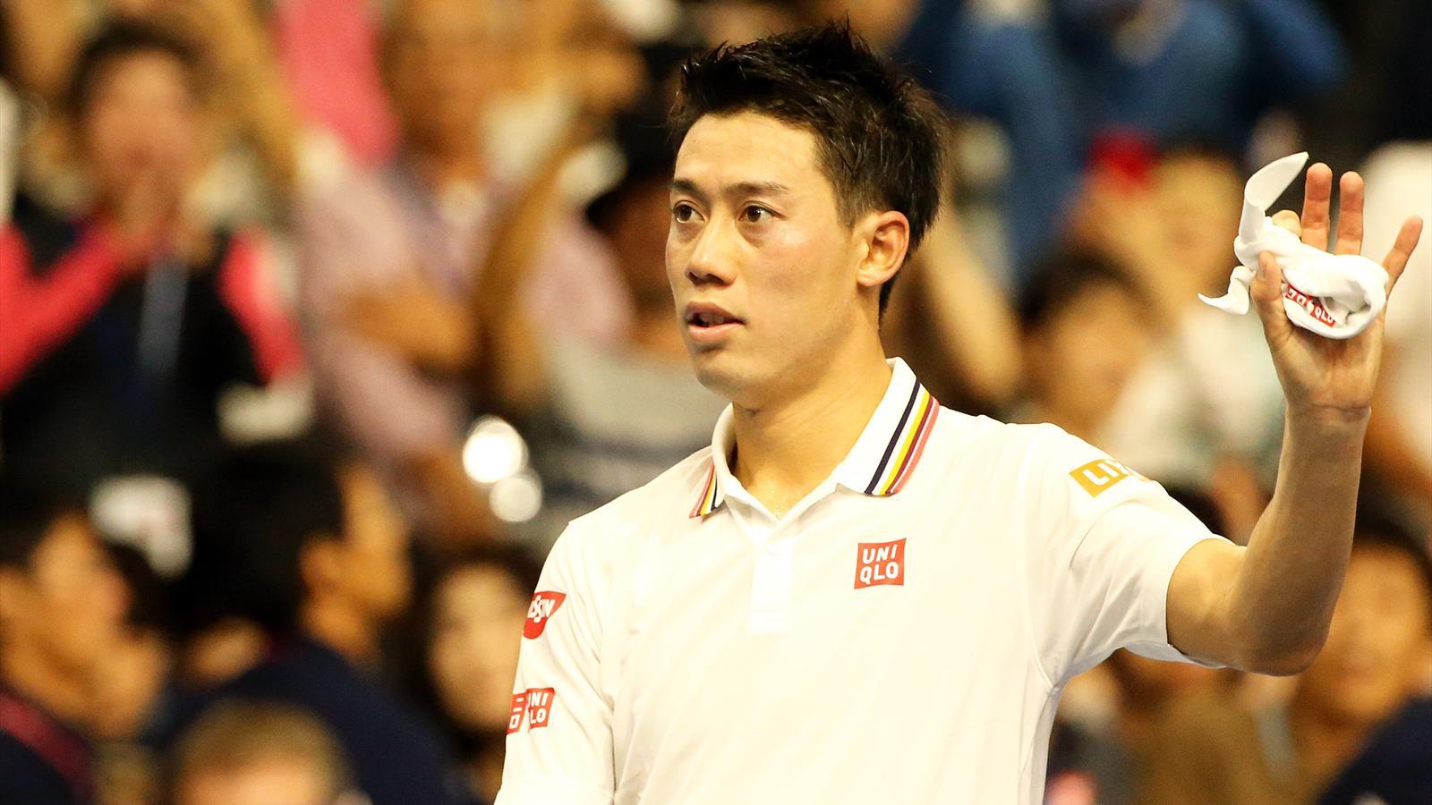 Tennis news - Kei Nishikori through to Japan Open final against Daniil Medvedev - ATP Tokyo 2018 ...