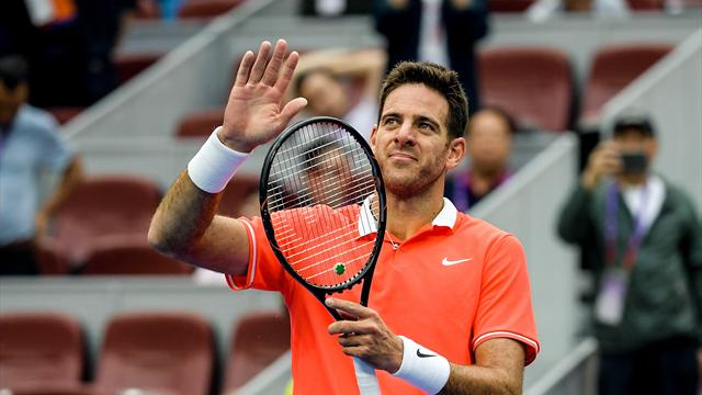 Del Potro sets up Beijing semi-final with Fognini