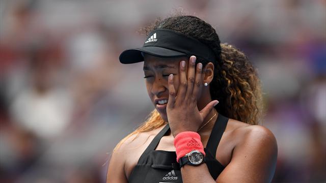 Osaka se rate, pas Wozniacki en finale — Pékin