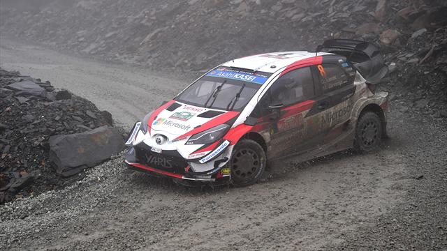 Tanak extends Rally GB lead, Ogier in second