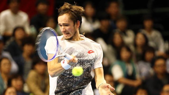 Медведев пришиб Нисикори и взял третий титул в сезоне