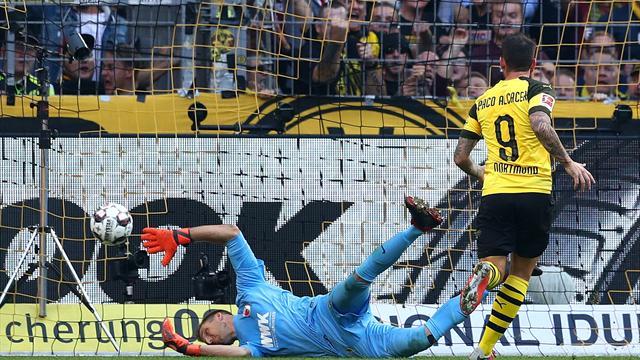 🇩🇪 El Dortmund (rival Atlético) gana 4-3 con un hat-trick de Paco Alcácer ⚽⚽⚽