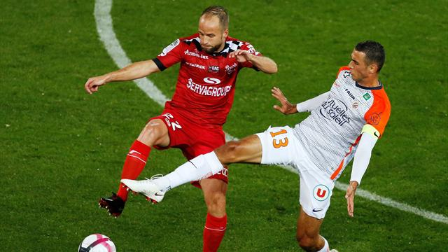 Guingamp accroche Montpellier, Angers miraculé contre Strasbourg