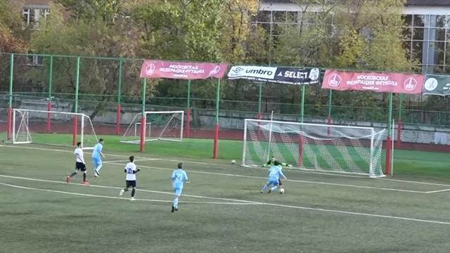 Матч чемпионата Российской Федерации пофутболу закончился срезультатом 43:1