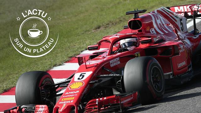 Vettel, panne, Marquez, PSG-OL : l'actu sur un plateau