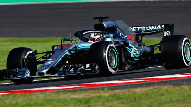 Hamilton fonce vers le titre... grâce à Vettel