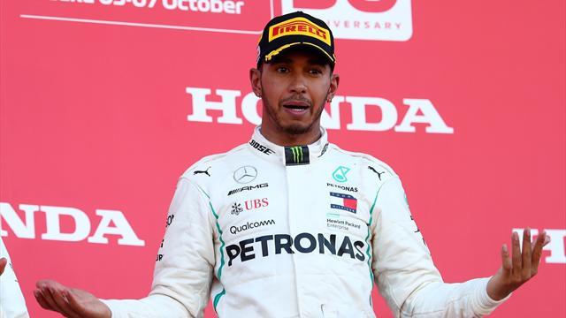 Quand Hamilton s'interroge sur l'étrange chute de performance du moteur de Vettel...
