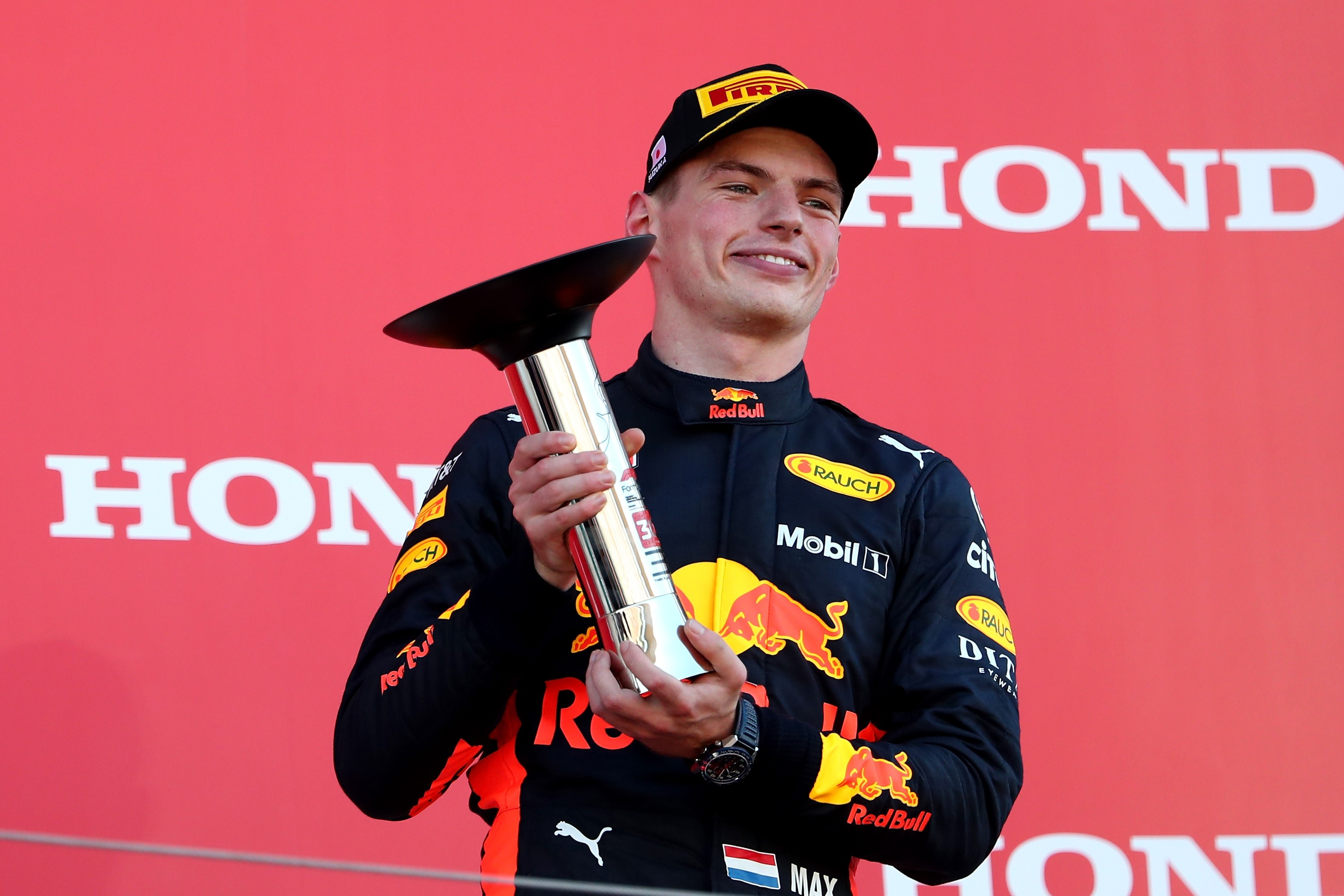 Max Verstappen (Red Bull) au Grand Prix du Japon 2018