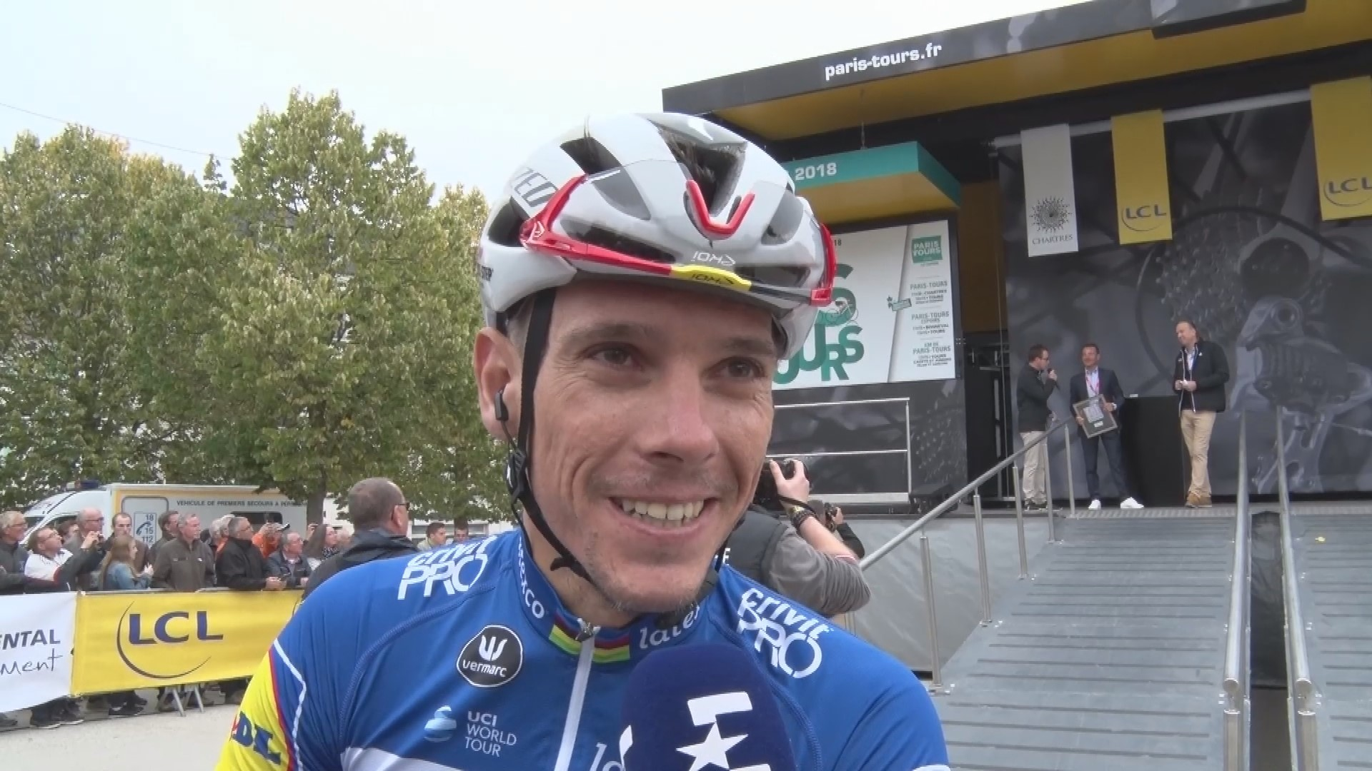 Paris-Tours : Interview Philippe Gilbert