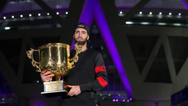Басилашвили обыграл Дель Потро и стал чемпионом Пекина