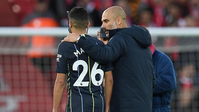 """Guardiola : Mahrez """"ne partira pas"""""""