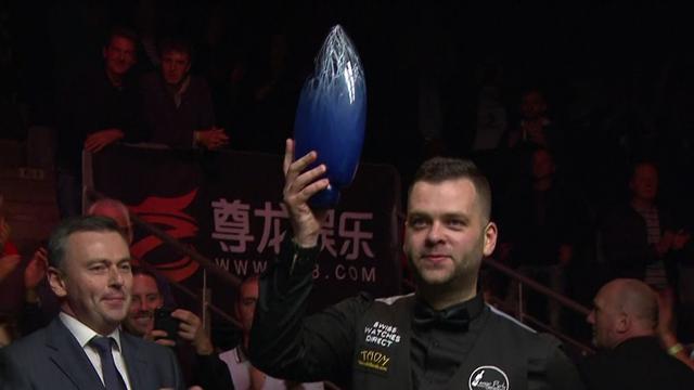 Робертсон выигрывает European Masters сотенной серией