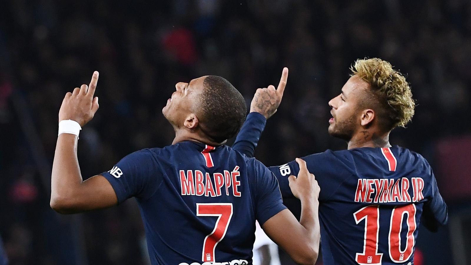 Psg Neymar Et Mbappé Titulaires Rabiot Remplaçant Ligue Des