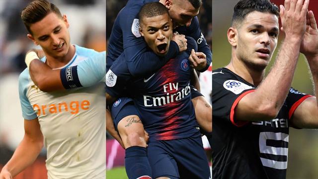 Thauvin, Mbappé, Ben Arfa... Votez pour le meilleur joueur de la 9e journée de Ligue 1