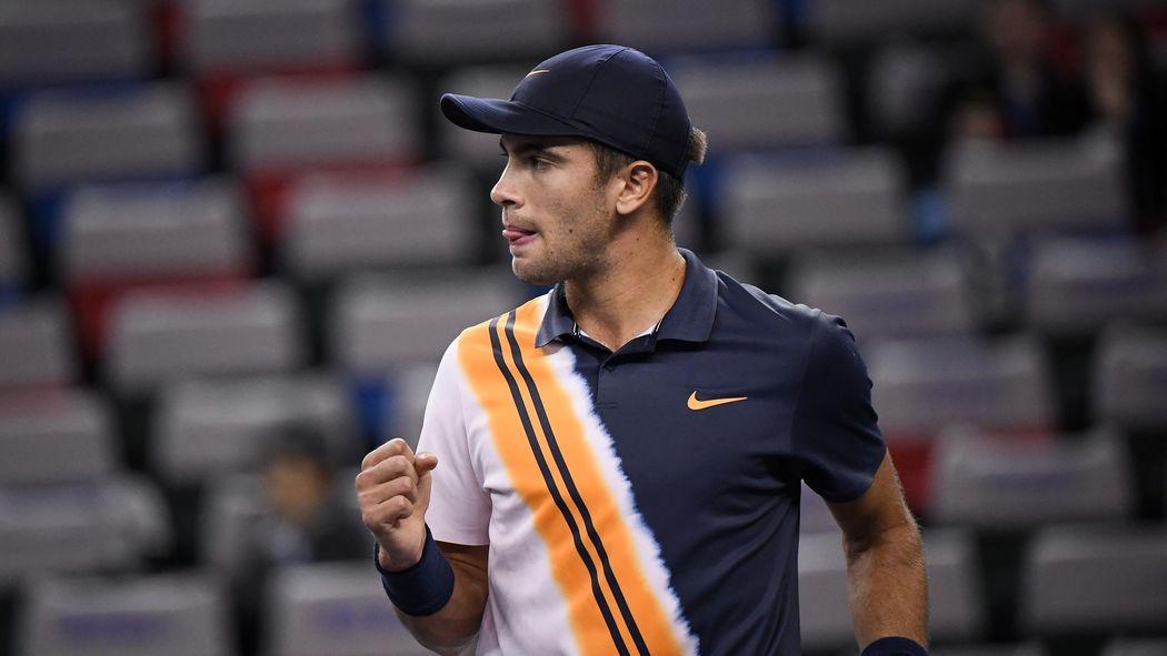 Tennis News Borna Coric Ousts Stan Wawrinka In Shanghai Opener
