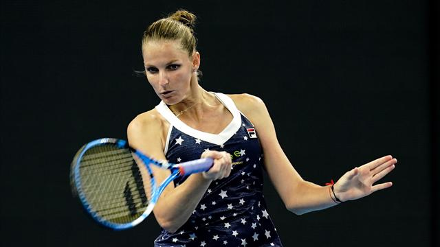 Pliskova and Sabalenka reach Tianjin Open quarterfinals
