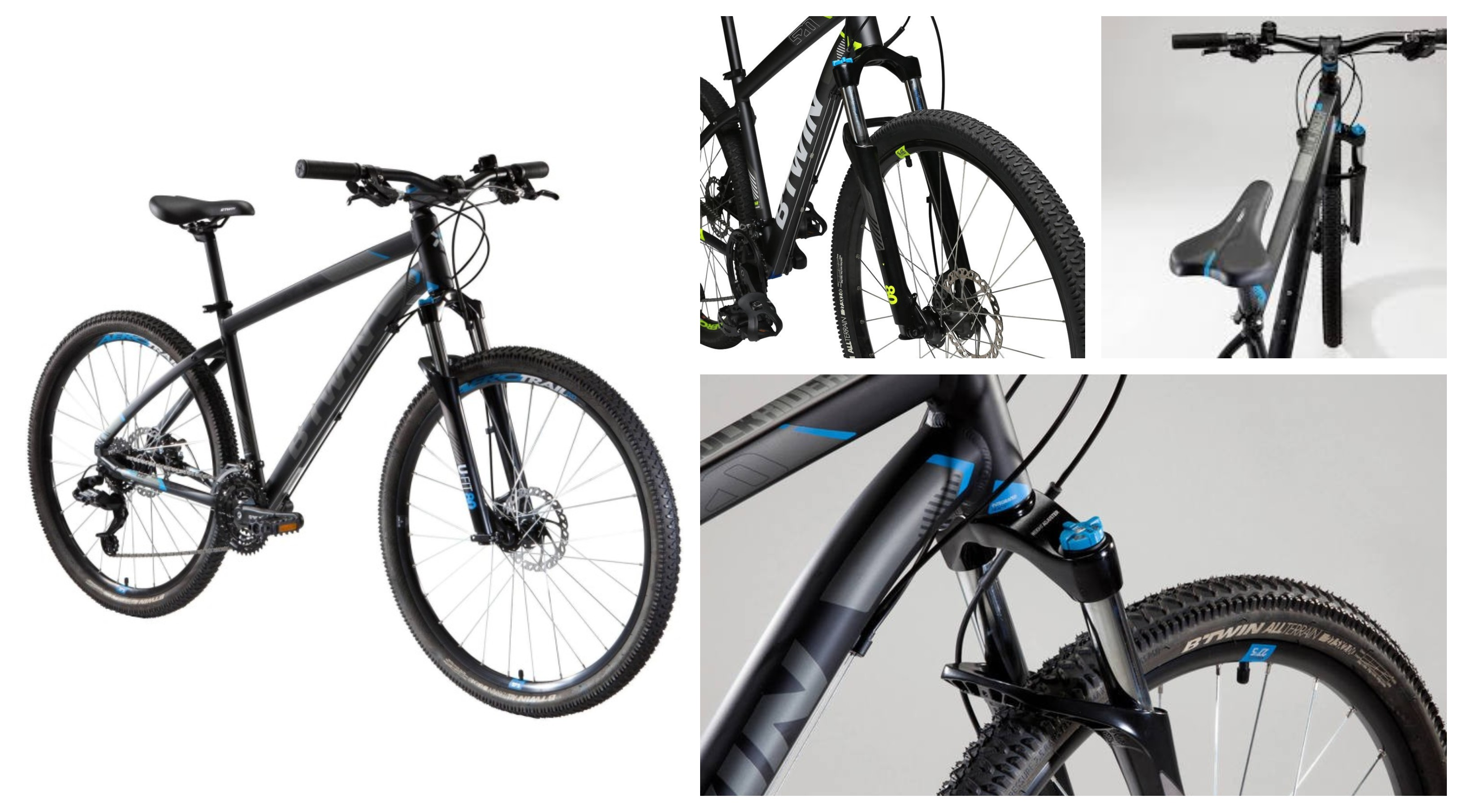 d12a65edc Review  B Twin by Decathlon s Rockrider 520 Mountain Bike - Cycling ...