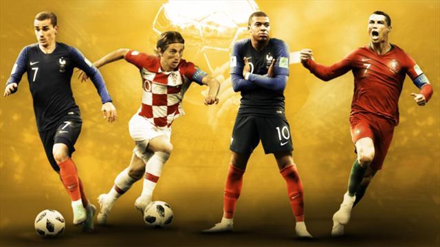 Griezmann, Modric, Mbappé ? Nous avons élu notre Ballon d'Or 2018