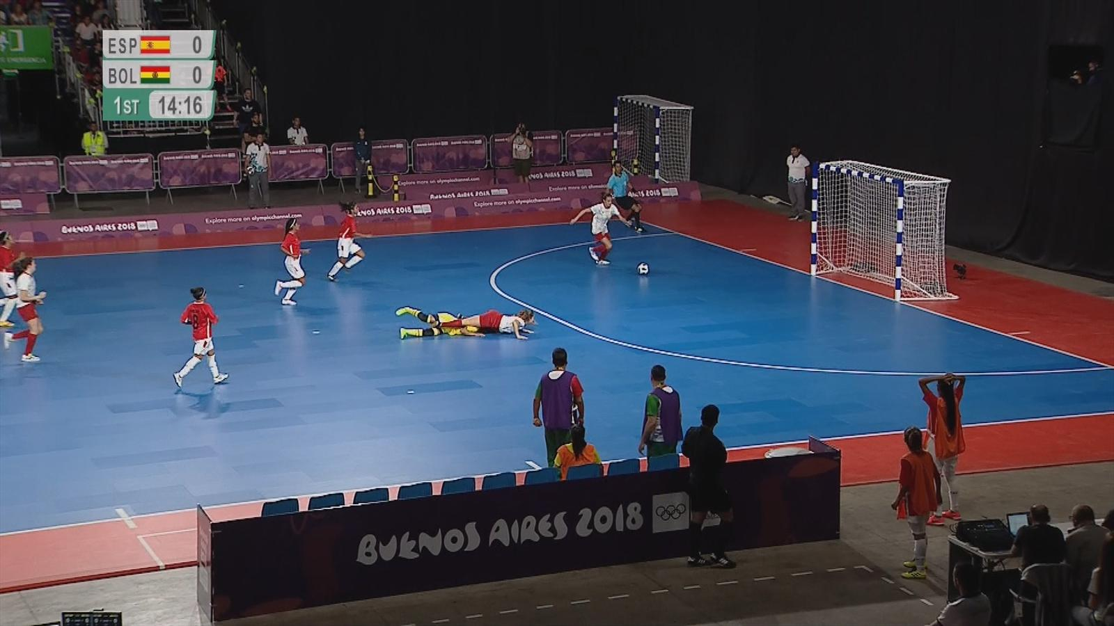6d608f474c VIDEO - Futsal highlights  Thailand hit 14 against Trinidad and Tobago