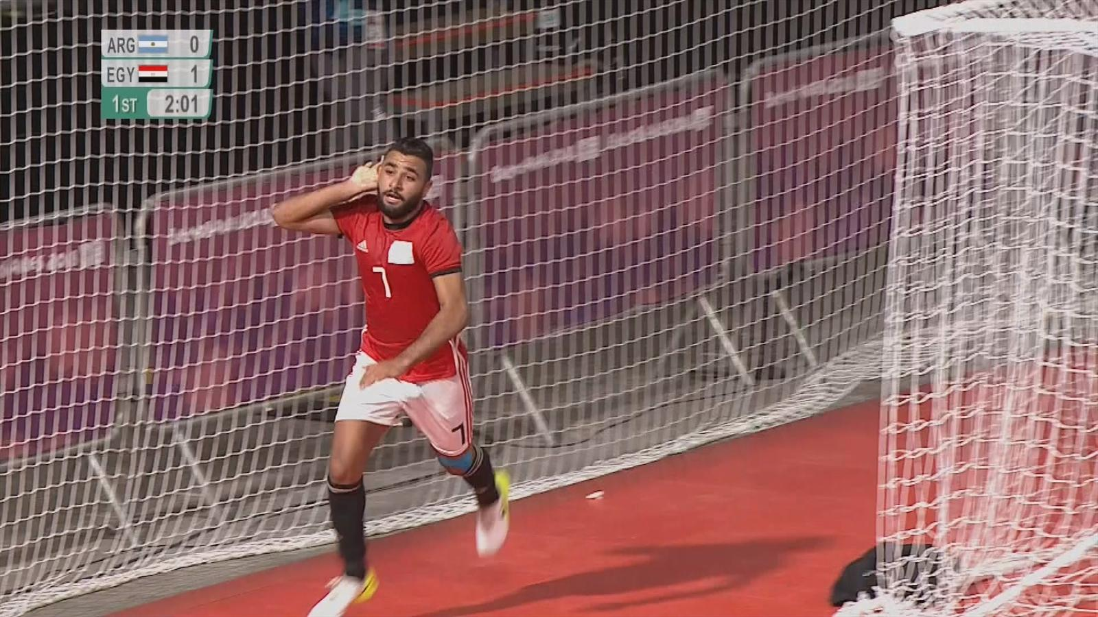 d7b6a751ea VIDEO - Futsal highlights  Wild scenes as Argentina snatch late draw ...