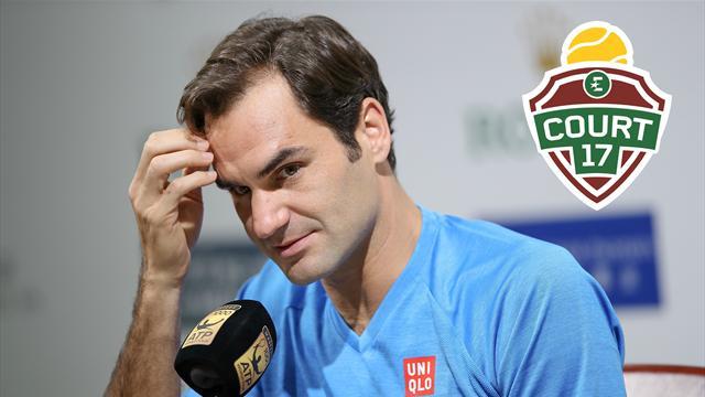 """""""Federer a forcément la place de numéro un mondial dans un coin de sa tête"""""""