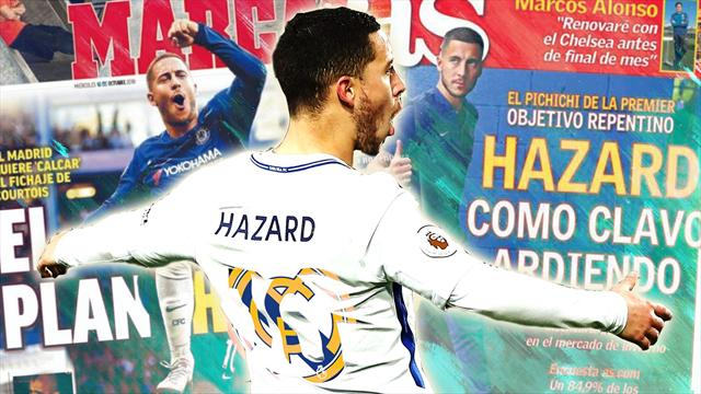 Euro Papers: Hazard set to snub Chelsea deal in bid to force Real Madrid move