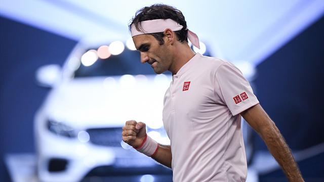 Masters 1.000 Shanghái, Federer-Nishikori: La defensa del título cada vez más cerca (6-4 y 7-6 -4-)