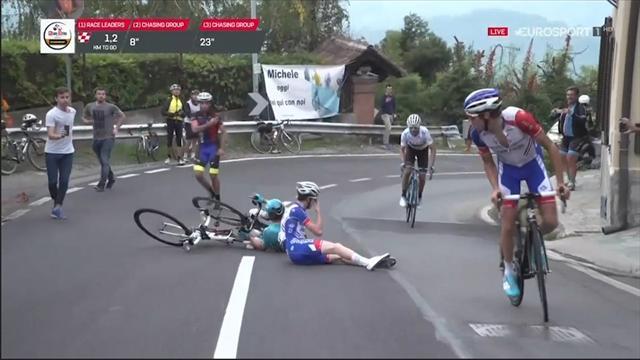 Pazzesco alla Milano-Torino: Gaudu e Lopez si scontrano in salita e vince Thibaut Pinot