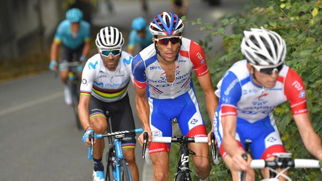 Tour de Lombardie: victoire du Français Thibaut Pinot