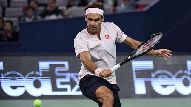🎾Federer se mete en cuartos de final tras superar a un batallador Bautista (6-3, 2-6 y 6-4)