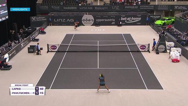 Pawluczenkowa w ćwierćfinale w Linzu