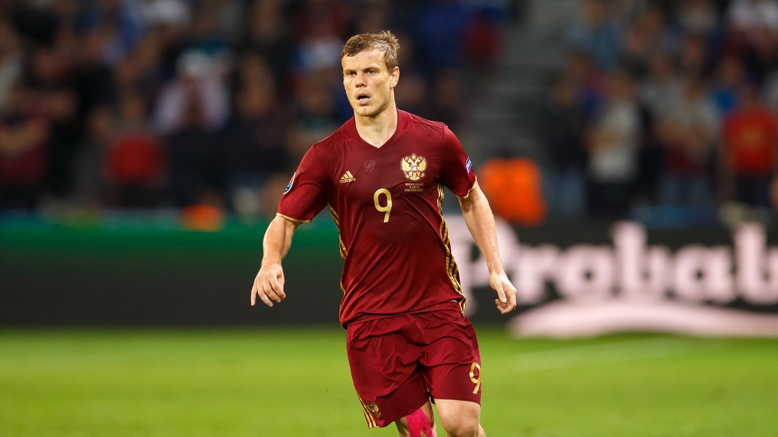 Александр Кокорин, сборная России