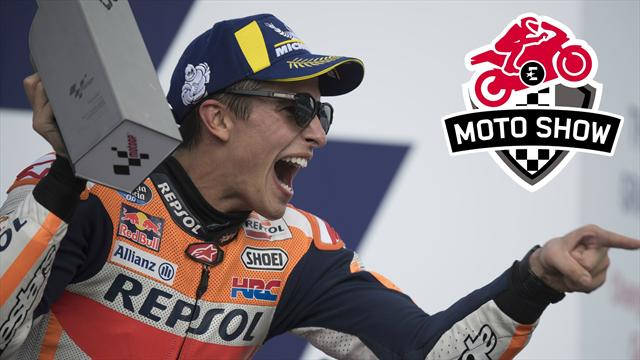 Marquez a-t-il encore des limites ? On en a parlé dans Moto Show