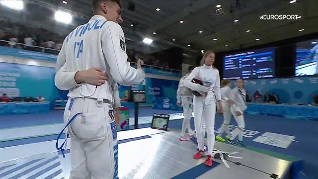 Olimpiadi Giovanili, Favaretto e Di Veroli oro con il Team Europe nella prova a squadre miste